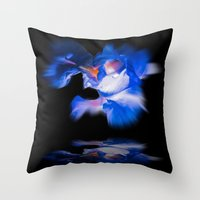 lily Throw Pillows featuring Lily  by Walter Zettl