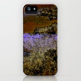 Autumn At The Lakeshore iPhone Case