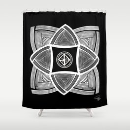 Mimbres Series - 11 Shower Curtain