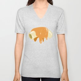 Mac & Cheese Unisex V-Neck