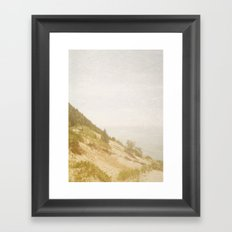 The Mountain Climb Framed Art Print