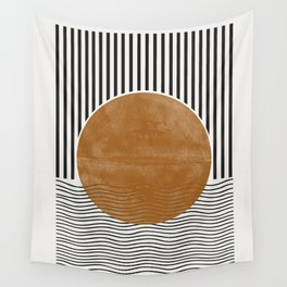 Abstract Modern Poster Wall Tapestry