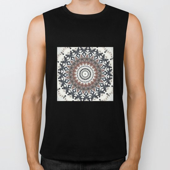 Graffiti Wall Kaleidescope Biker Tank