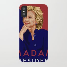 Hillary Poster  iPhone Case