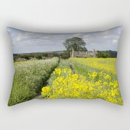 Abandoned farmhouse Rectangular Pillow
