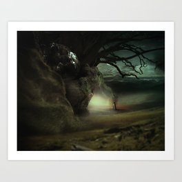 Hope in Darkest Places Art Print