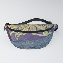 The Red Sunrise at Dayai Shore Fanny Pack