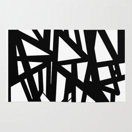Black tag. Rug