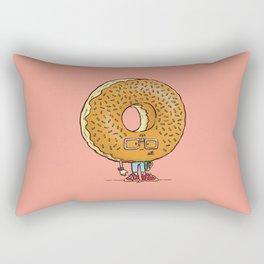 Nerd Donut Rectangular Pillow