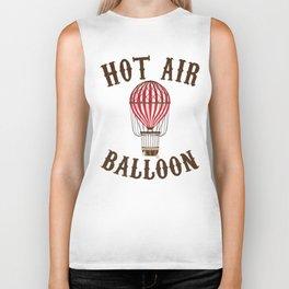 Hot Air Balloon Retro Balloonist Pilot Ballooning Biker Tank
