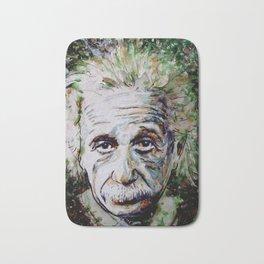 Albert Einstein - brainstorm Bath Mat