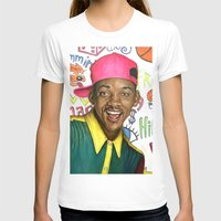 fresh prince T-shirts featuring Fresh Prince of Bel Air - Will Smith by Heather Buchanan