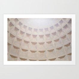 Pantheon Rome # 2 Art Print