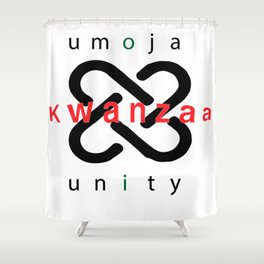 Umoja Kwanzaa Shower Curtain