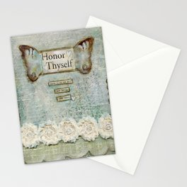honor thyself Stationery Cards