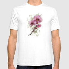 tiny, perfect beauty SMALL White Mens Fitted Tee