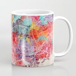 Stamford map Connecticut painting 2 Coffee Mug