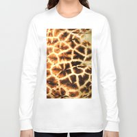 camo Long Sleeve T-shirts featuring Serengeti Camo by Bunny Clarke