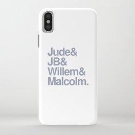 Jude & JB & Willem & Malcolm. iPhone Case
