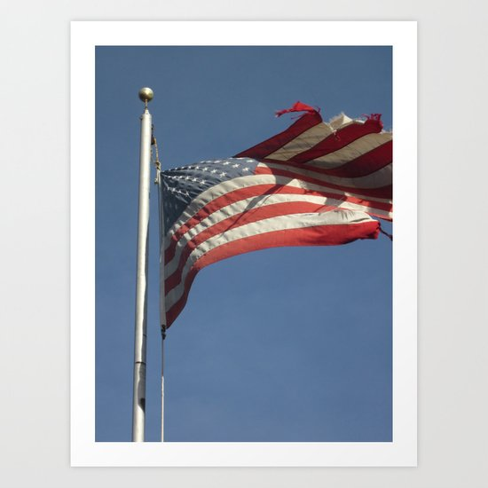 The Flag That Could Never Die Art Print