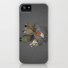 Robin and his merry friends. iPhone Case