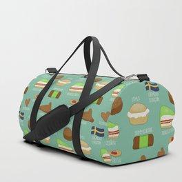Swedish fika collection #2 Duffle Bag
