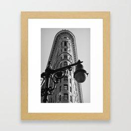 New York Flatiron Framed Art Print