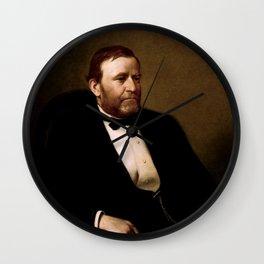 President Ulysses S. Grant Wall Clock