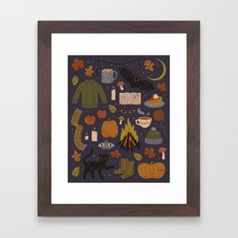Autumn Nights Framed Art Print