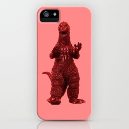 Redzilla iPhone Case