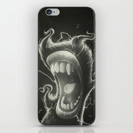 Mouth iPhone Skin