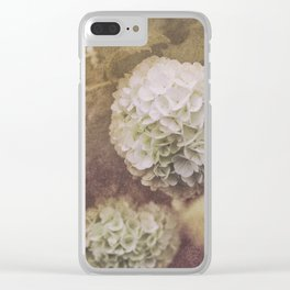 Snowballs Clear iPhone Case