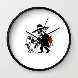 Cat VS Mouse Wall Clock