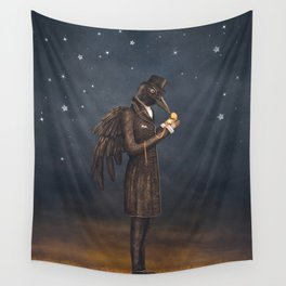 Even miracles take a little time. Wall Tapestry