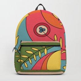 Flower Flag Backpack