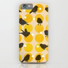 Birdsong Yellow iPhone 6s Slim Case
