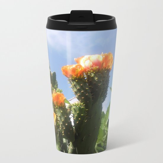 Blossoms in the Spring Metal Travel Mug