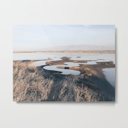BLUE MOON X / Alviso, California Metal Print