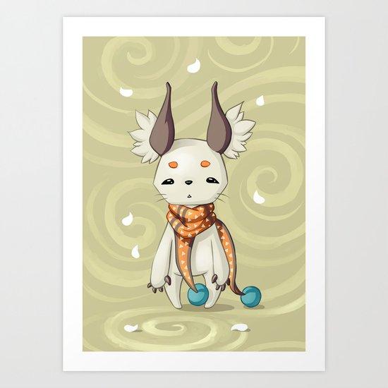 Fluffy Ears Art Print