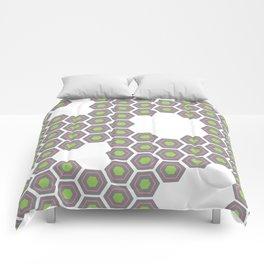 Hexagon Pattern Comforters