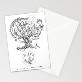 Mollusk Family Tree Stationery Cards