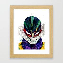 Jeeg Robot Framed Art Print