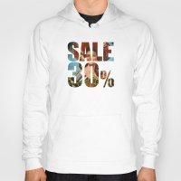 sale Hoodies featuring Sale by Gerko