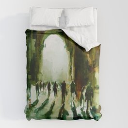 without an end or a beginning  Duvet Cover