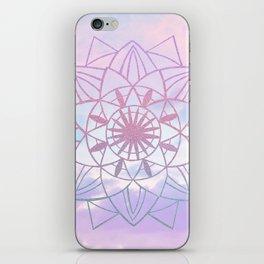 Star Mandala Unicorn Pastel Clouds #1 #decor #art #society6 iPhone Skin