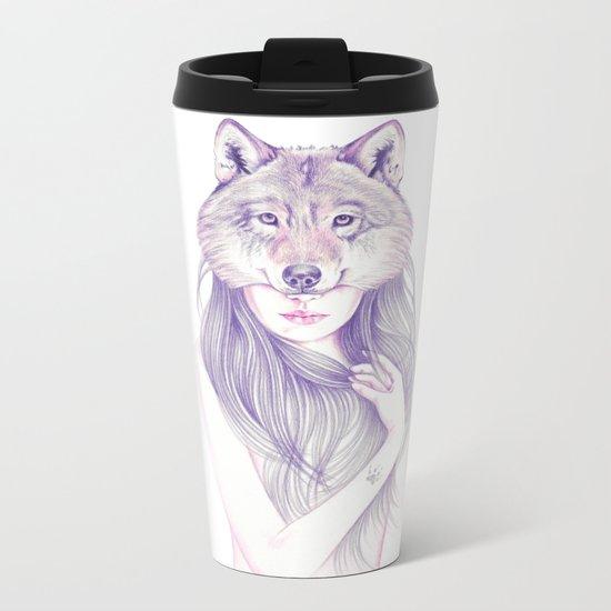 Wolfheart Metal Travel Mug