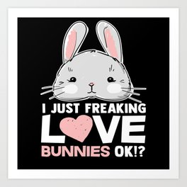 Bunny Love Art Print
