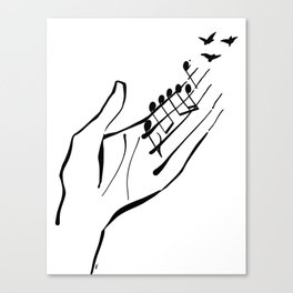 Sounds of nature Canvas Print