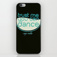 vodka iPhone & iPod Skins featuring Says Vodka by Daniac Design