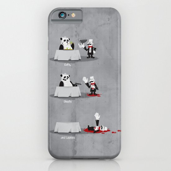 Eating Habits of the Panda iPhone & iPod Case